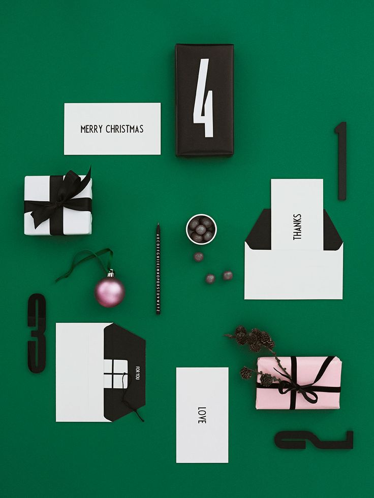 Say Merry Christmas with our occasion cards. Or Good Luck, Congratulations, Love, Happy Birthday, Get Well Soon or Thanks. Use our acrylic numbers to make an advent gift calendar.