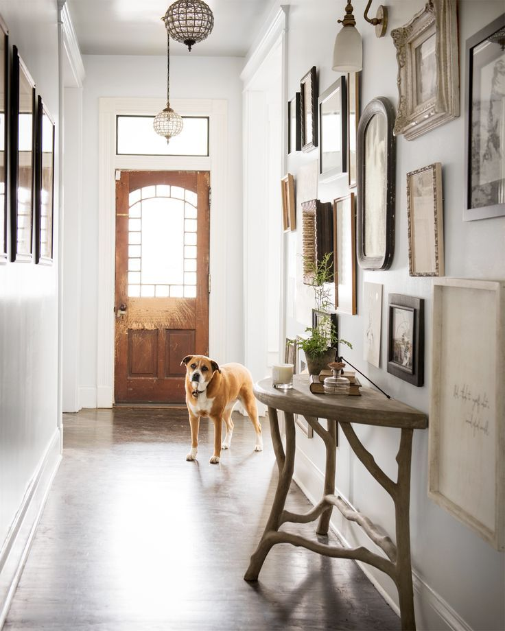 Take A Peek Inside Holly Williams Charming 1908 Nashville Cottage Hallway IdeasEntryway