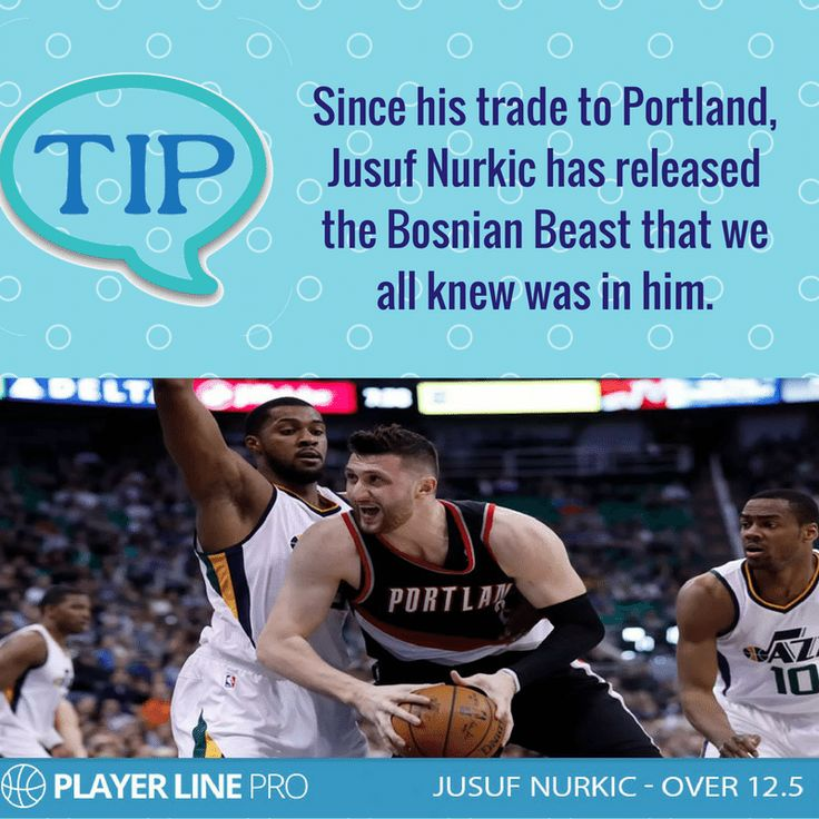 In Portland, Jusuf Nurkichas settled straight into the starting center role and is the third option on offense behind the dynamic backcourt duo of Damian Lillard and CJ McCollum. For more information, you have to visit: https://playerlinepro.com/jusuf-nurkic-12-5/