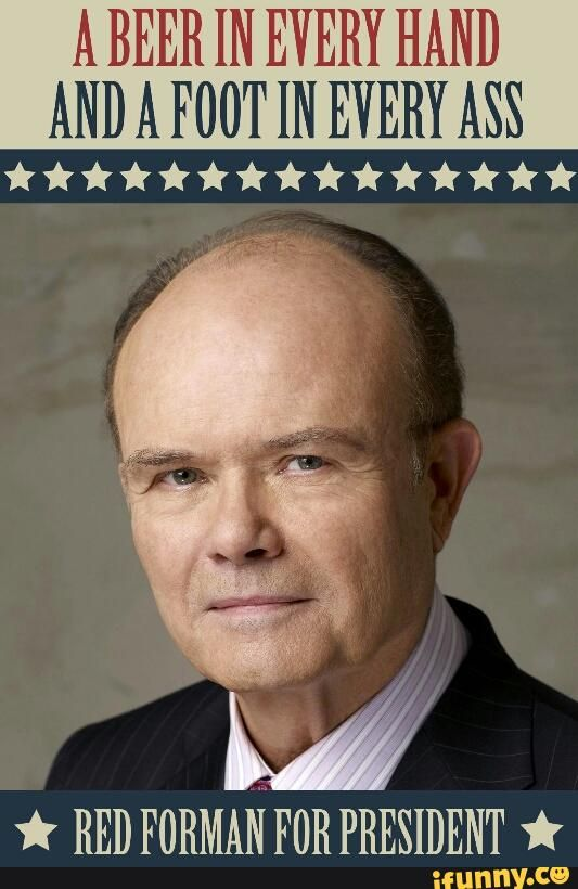 red, foreman, for, president, americanaf