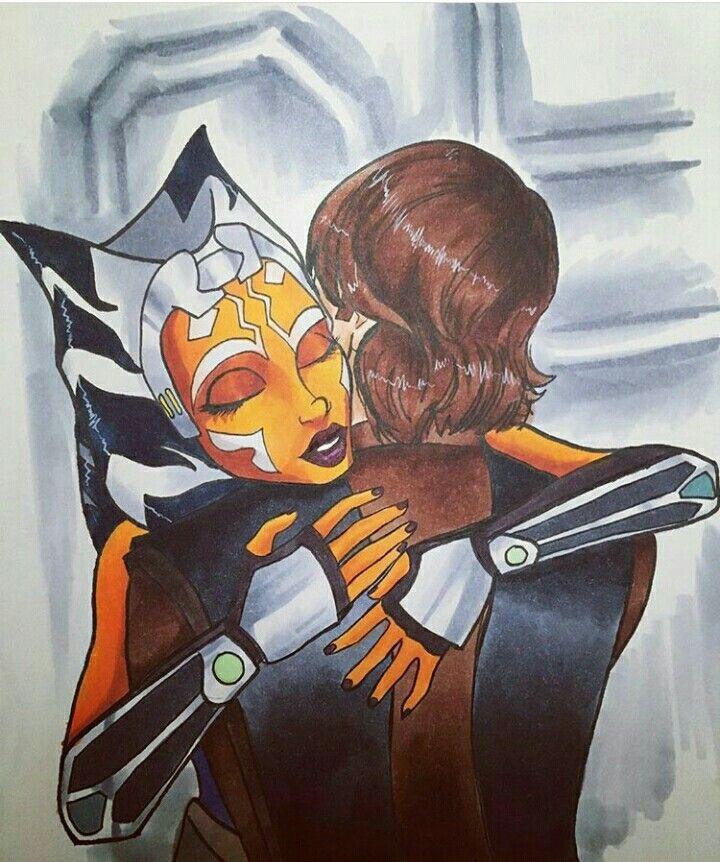 Anisoka Fanart Of The New Season If Star Wars The Clone Wars
