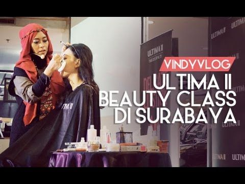 Inivindy Beauty Class With Ultima II di Surabaya | VindyVlog