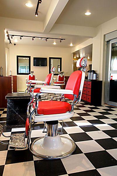 Salon Design Photo Gallery Portfolio Page One | Salon Interiors, Inc (love the chairs)