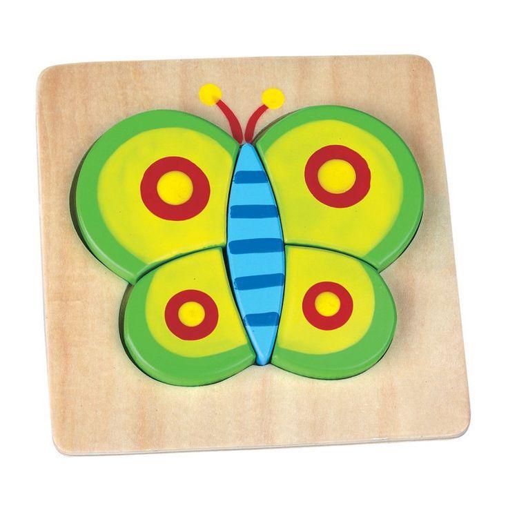 Puzzle din lemn pentru bebe