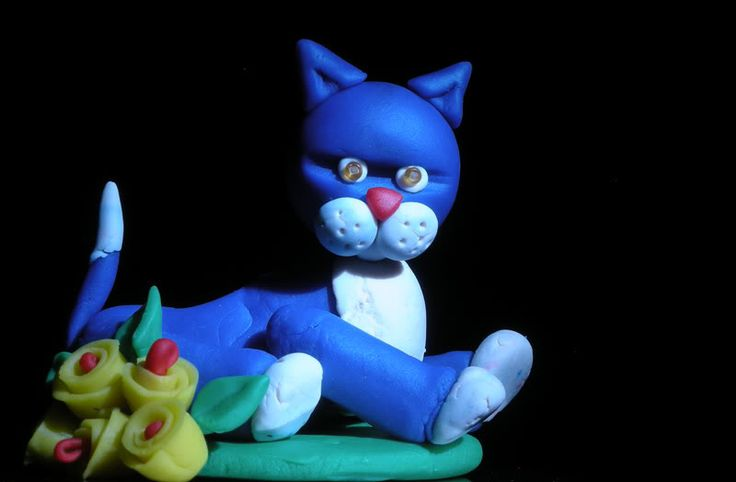 Play-doh... cat
