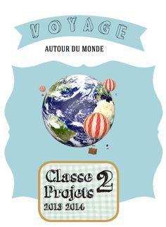Projet : voyage atour du monde