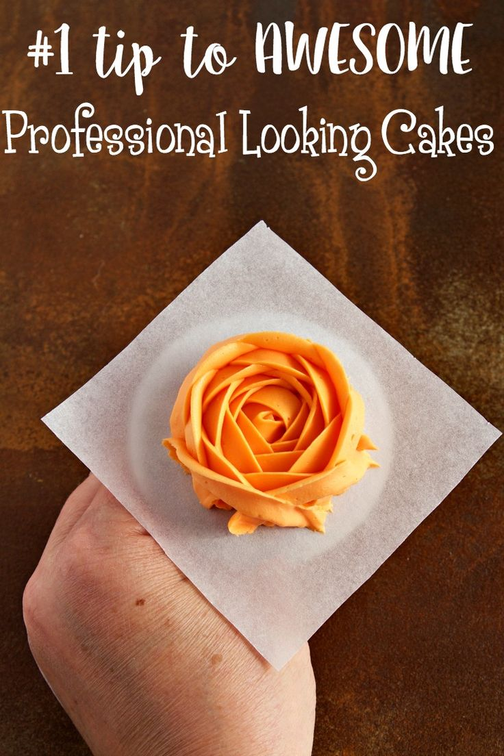 Make Professional Cakes with one Awesome Tip | The Bearfoot Baker