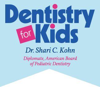 Logo for pediatric dentist Dr. Shari Kohn