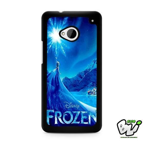 Snow World Blue Frozen HTC G21,HTC ONE X,HTC ONE S,HTC M7,M8,M8 Mini,M9,M9 Plus,HTC Desire Case