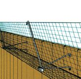 Great way to keep your cat in the yard! CAT FENCE-IN™ | Cat Containment System