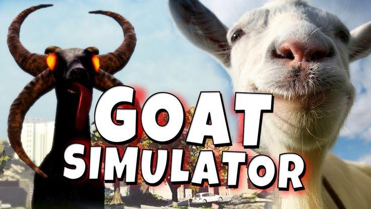 Goat Simulator - Demon Goat - Funny Moments