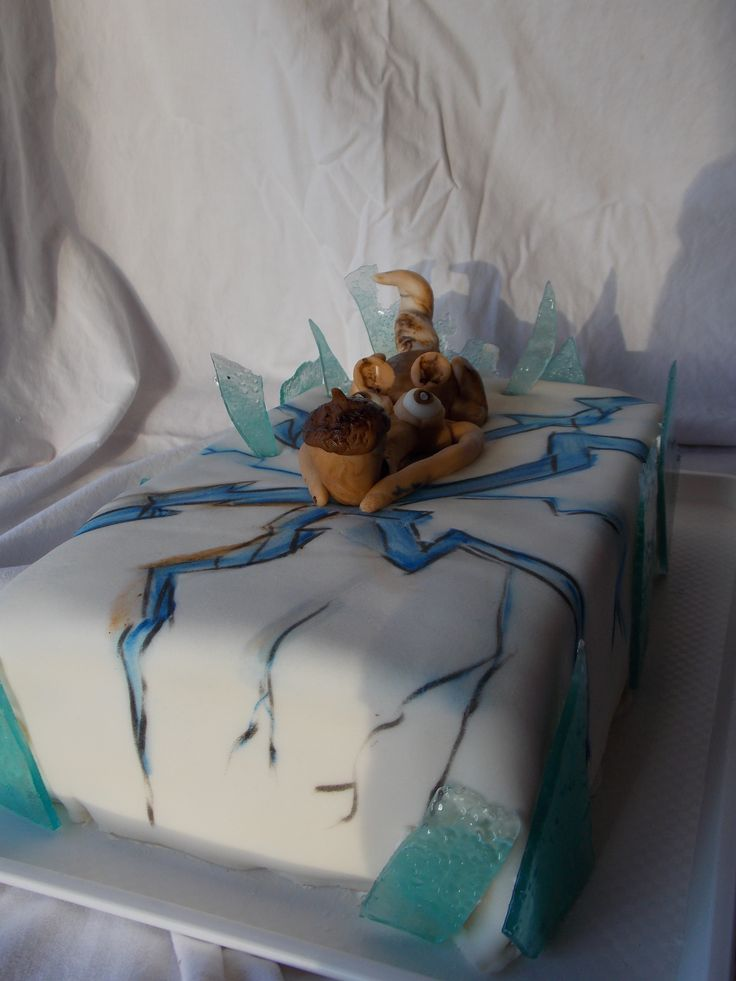 Ice age cake..Jégkorszak torta...