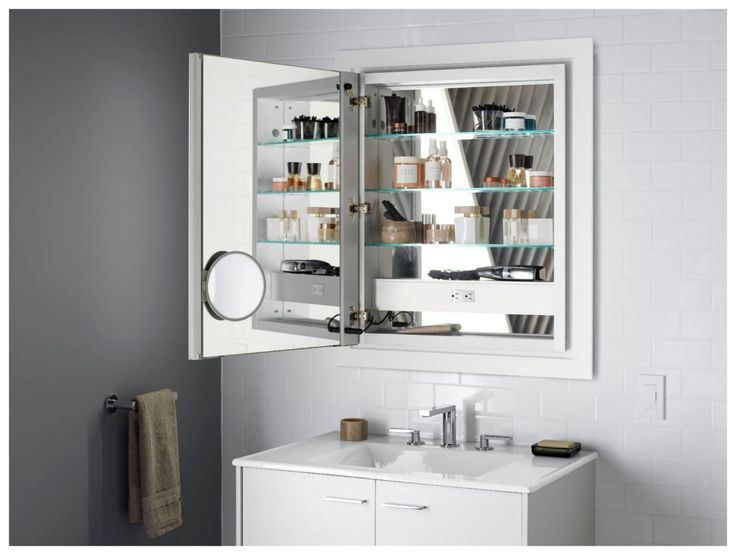 Kohler K 99007 Tlc Build Com In 2020 Lighted Medicine Cabinet Mirror Cabinets Bathroom