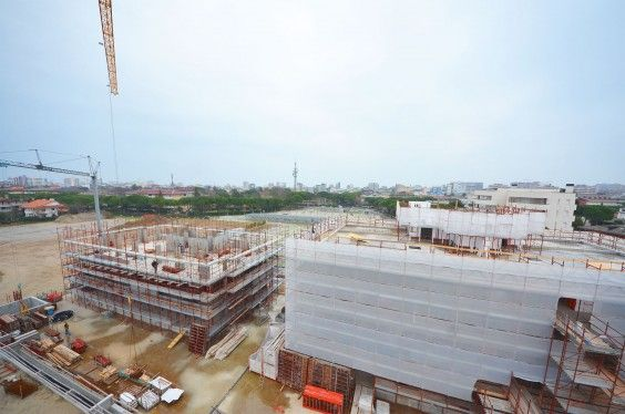 January 2014 - Building A/Building B #workinprogress #soleis #realestate #forsale #italy #lignano