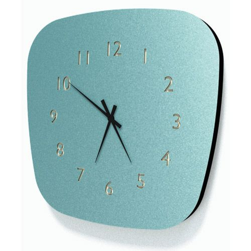Horloge vintage esprit formica Louise (3 coloris) Les Gambettes