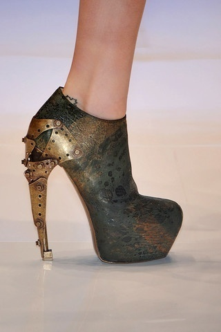 awesome steampunk shoes