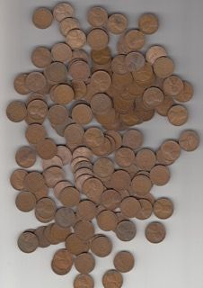 LARGE LOT OF 1930-1939 WHEAT PENNIES.