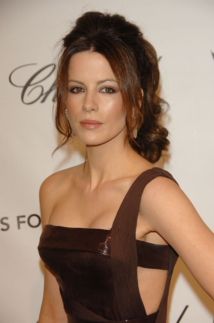 kate Beckinsale closeup at Underworld photo call