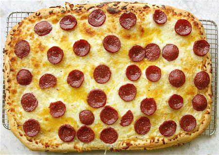 Save that sourdough! Turning unfed starter into yummy pizza crust. | Flourish - King Arthur Flour's blog