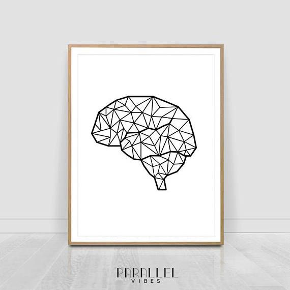 Check out this item in my Etsy shop https://www.etsy.com/listing/559202974/printable-brain-art-anatomy-brain-print