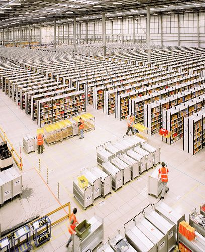 Think Your Office Is Soulless? Check Out This Amazon Fulfillment Center | Co.Design: business + innovation + design