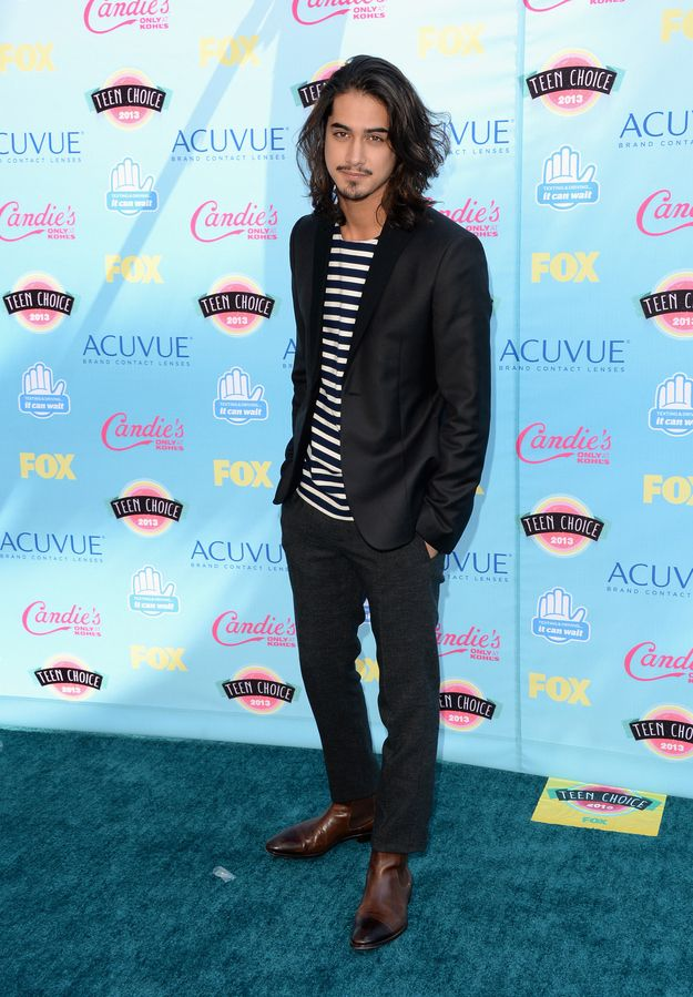Avan Jogia at the 2013 Teen Choice Awards