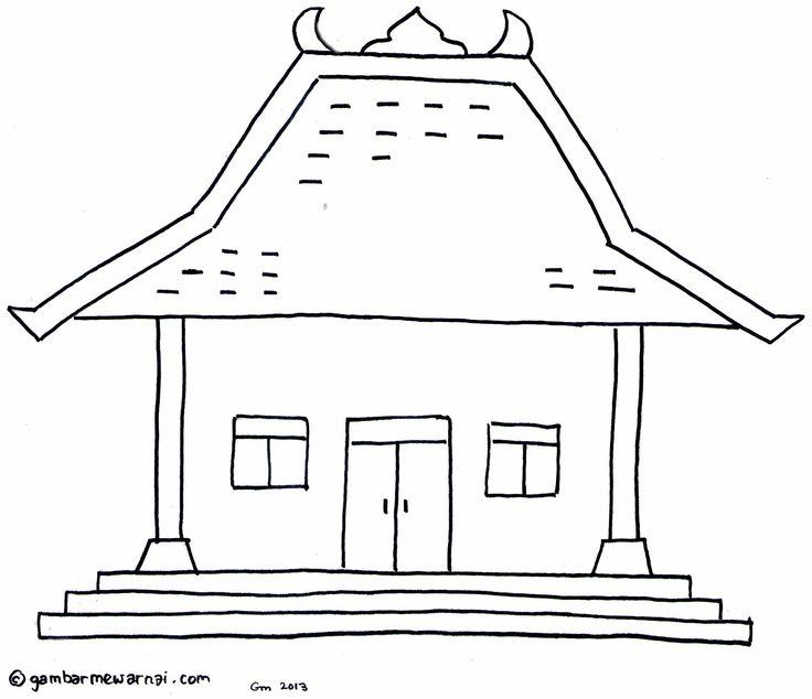 44 Koleksi Gambar Rumah Adat Jawa Animasi Gratis Terbaik