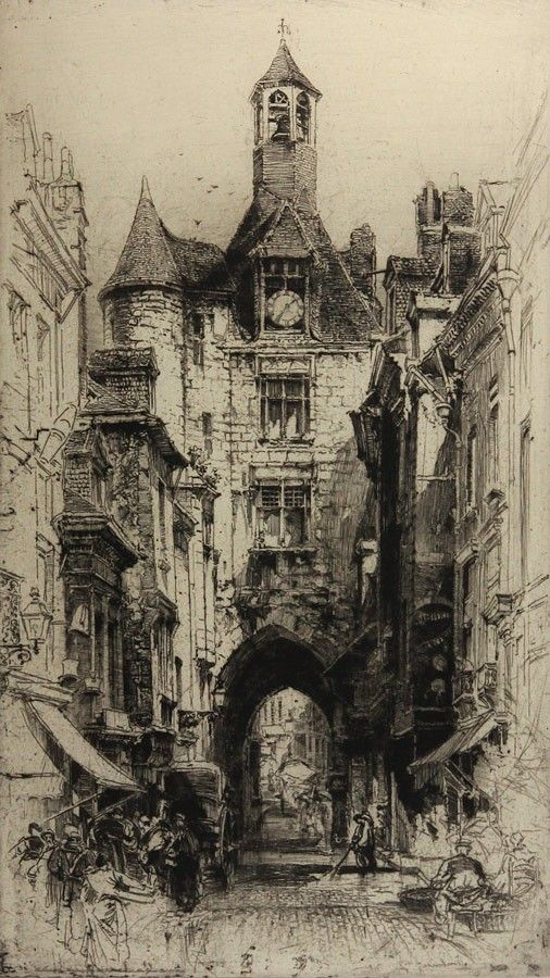 I found these amazing drypoints of Edinburgh in Scottish National Gallery. Hedley Fitton knew how to reflect this city's ambient.  more: https://www.google.co.uk/search?q=Hedley+Fitton+drypoint&espv=2&biw=1920&bih=965&source=lnms&tbm=isch&sa=X&ei=W_KGVeHBEcbkUYP5gZgG&ved=0CAYQ_AUoAQ