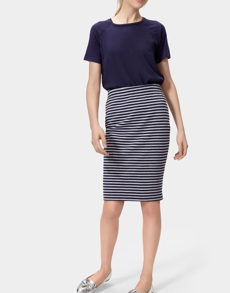 1000 ideas about navy striped skirts on