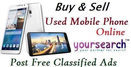 Buy and sell used Mobile phones Online
