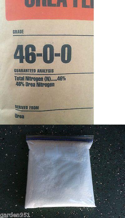 Fertilizers 119683: 99+% Urea Commercial Grade Nitrogen Fertilizer 46-0-0 Gold Refining Aqua Regia -> BUY IT NOW ONLY: $49 on eBay!
