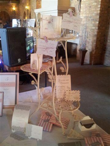 Riverside castle Wedding Expo - Wedding Stationery