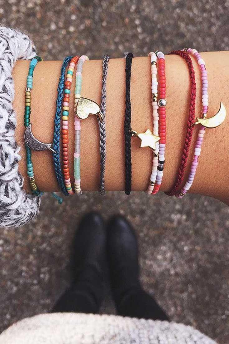 Seed Beads + Bitty Charms | Pura Vida Bracelets