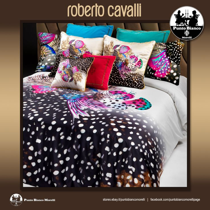ROBERTO CAVALLI | GALAPAGOS Lenzuola, sopra sotto e due federe - Full bedsheet