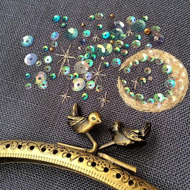 Волшебная вышивка Mayuka Morimoto Oyanagi - Ярмарка Мастеров - ручная работа, handmade