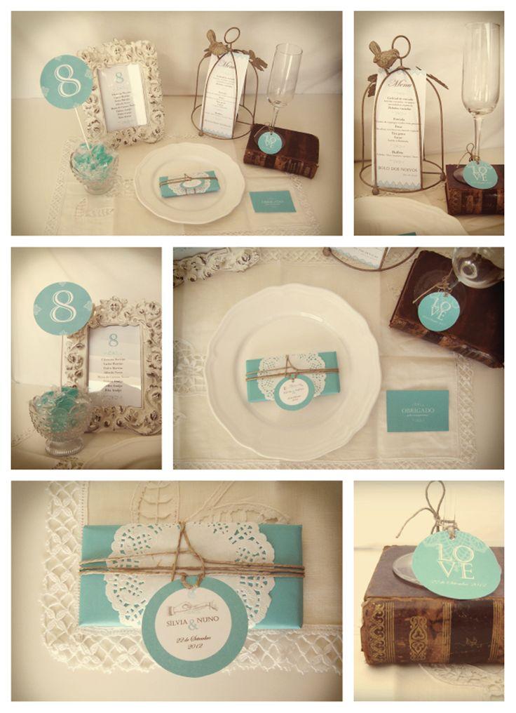 LoveLace Wedding Stationery /// www.inlove.pt