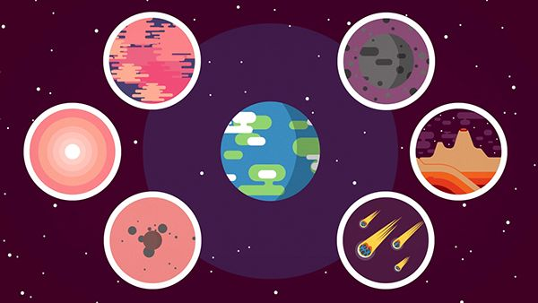 Everything You Need to Know About Planet Earth by Kurzgesagt ., via Behance