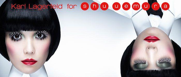 Współpraca Lagerfelda i Shu Uemura zaowocowała limitowaną kolekcją kosmetyków i akcesoriów do makijażu. Tradycja japońska połączona została ze sztuką nowoczesną w postaci luksusowych opakowań, pięknych kolorów i sprawdzonej jakości. Idealne pod choinkę...