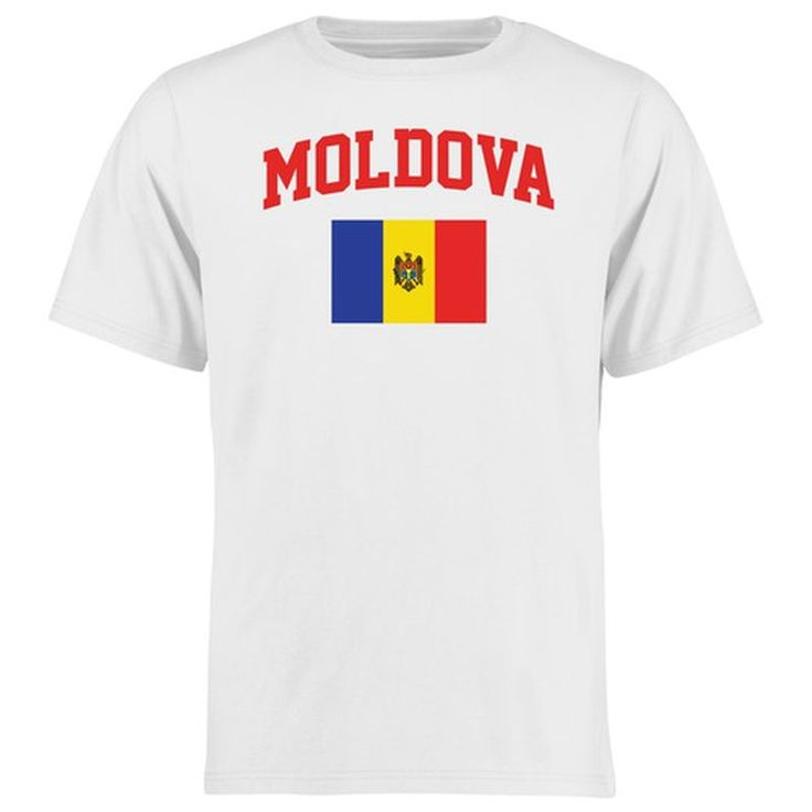 Moldova Flag T-Shirt - White