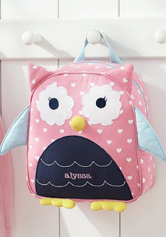 back to school owl backpack