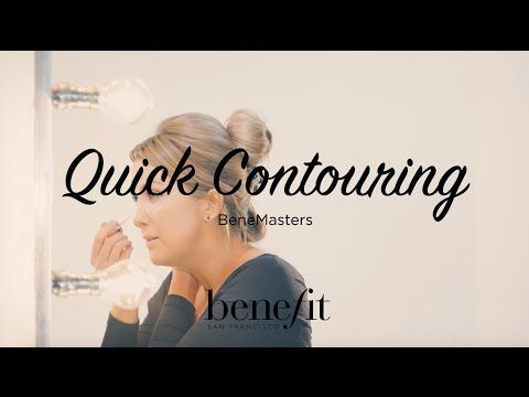Benefit Cosmetics UK & Ireland - YouTube Quick contouring! xx