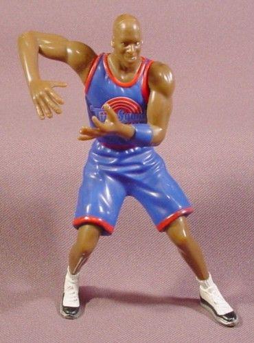 "Looney Tunes Space Jam Tunes Squad Michael Jordan Figure, 5"" Tall, 1996, NBA Basketball"