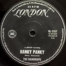 THAT BOY JOHN / HANKY PANKY ~ RAINDROPS 7 inch single