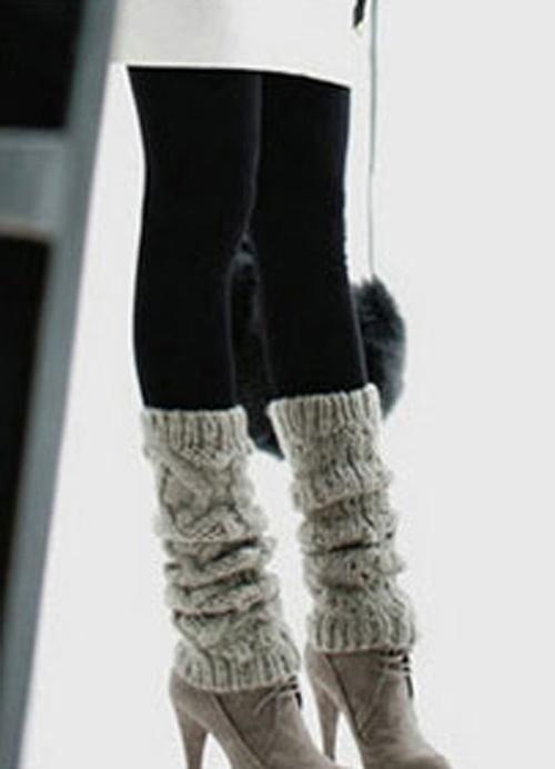 Girls Winter Loved Black Double Suede Lining Legging Pants Item Code:#GLD30B-5008+Black US$8.30