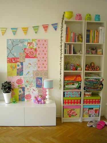 wallpaper and ikea furniture
