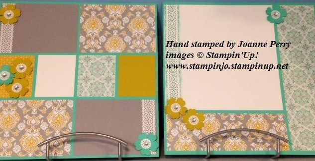 stampin up scrapbook layout eastern elegance - Google Search
