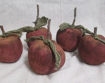 Harvest Apple Bowl Fillers-Primitive