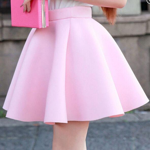 Kawaii skirt--add some patterned leggings=CUTE!
