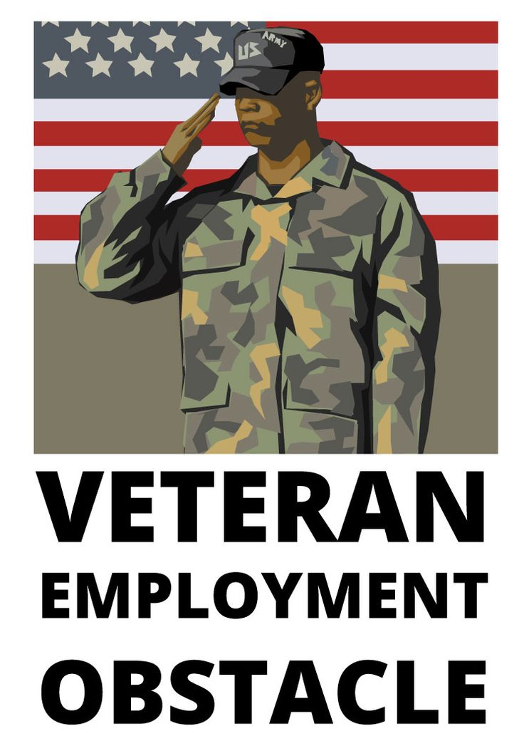 veteran employment obstacle design