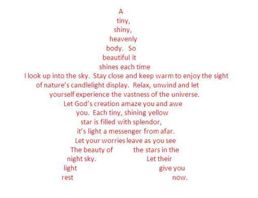 31 Best Shape Poetry Images On Pinterest